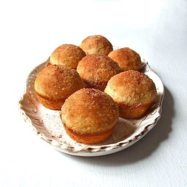 cinnamon sugar muffins 6