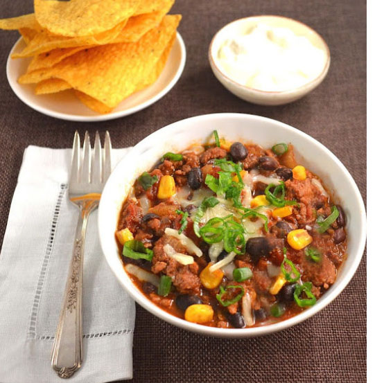 healthy diner chili