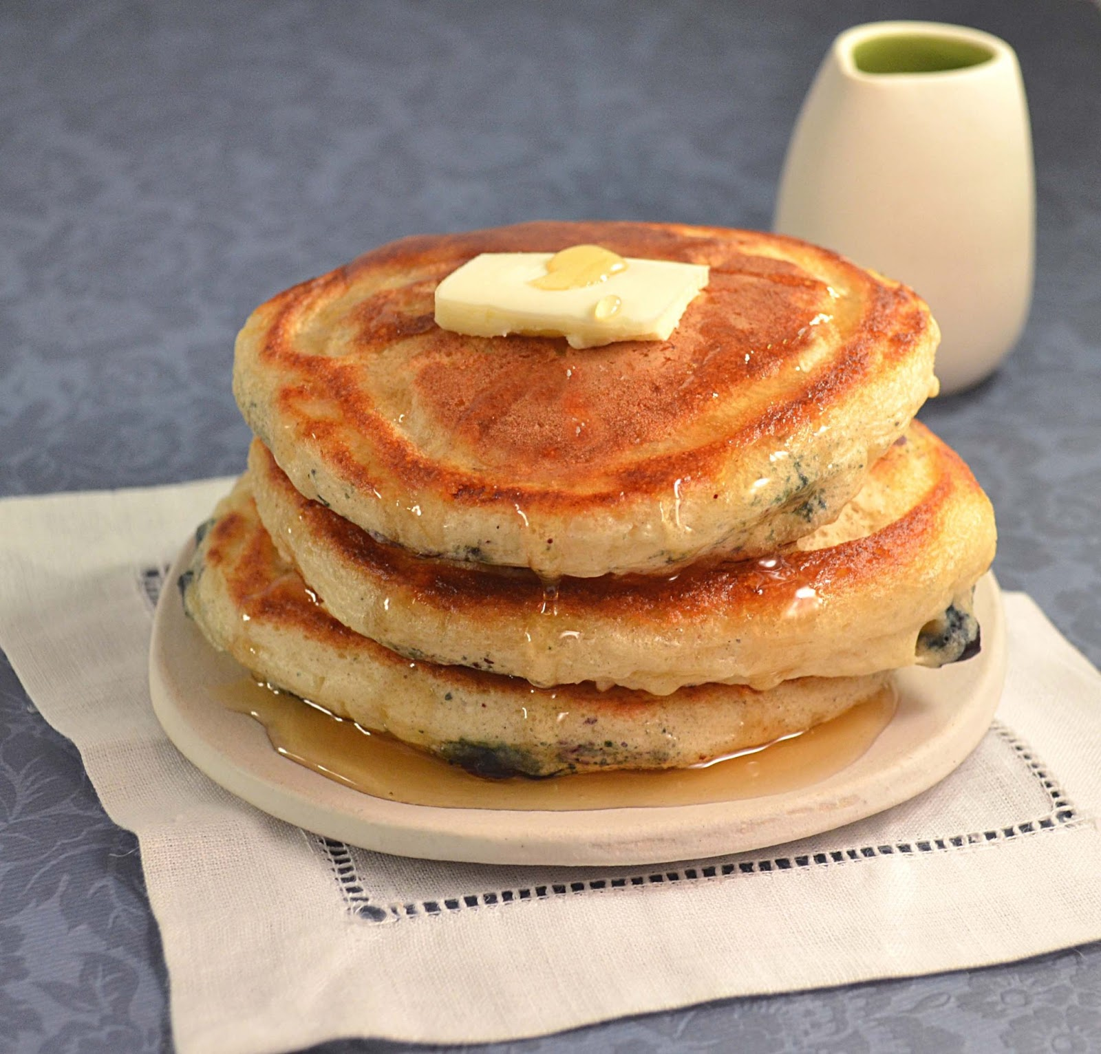 fluffy pancake recipe from scratch