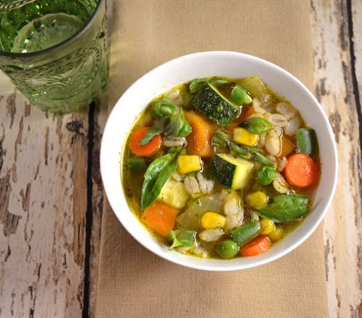 veggie soup recipe