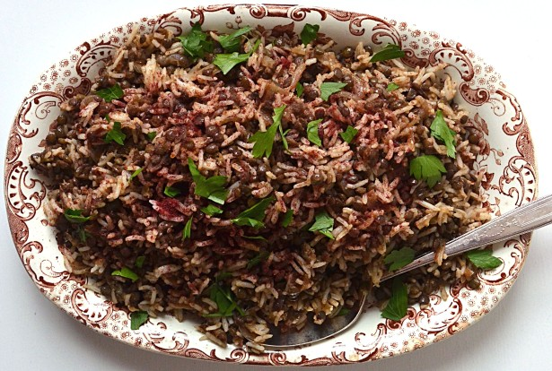 rice and  lentils 8