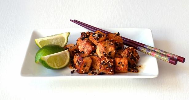 hot sesame tofu