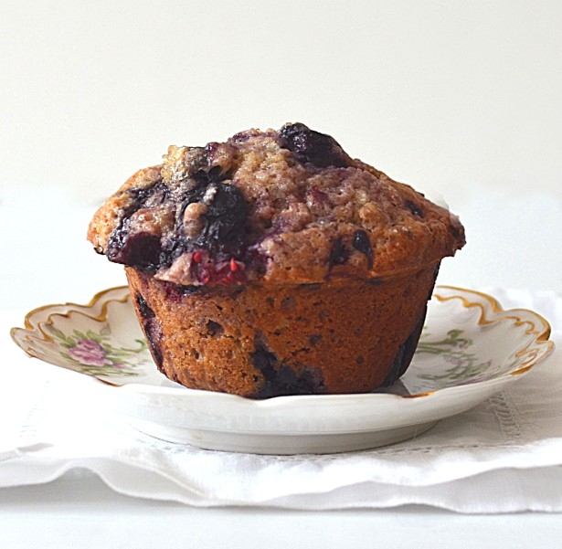 morning berry muffins