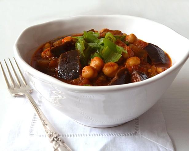 Morrocan Eggplant Stew