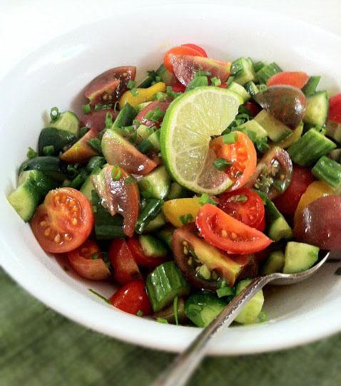 Persian Chopped Salad